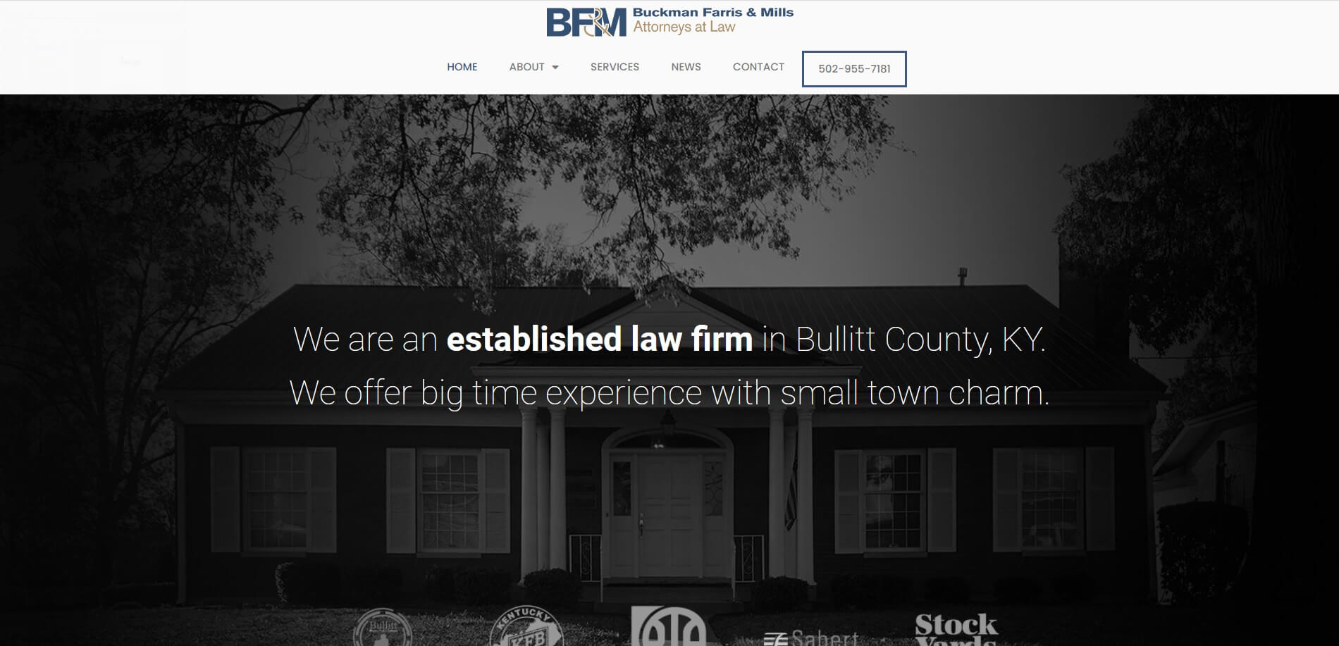 buckmanfarrislaw.com Homepage