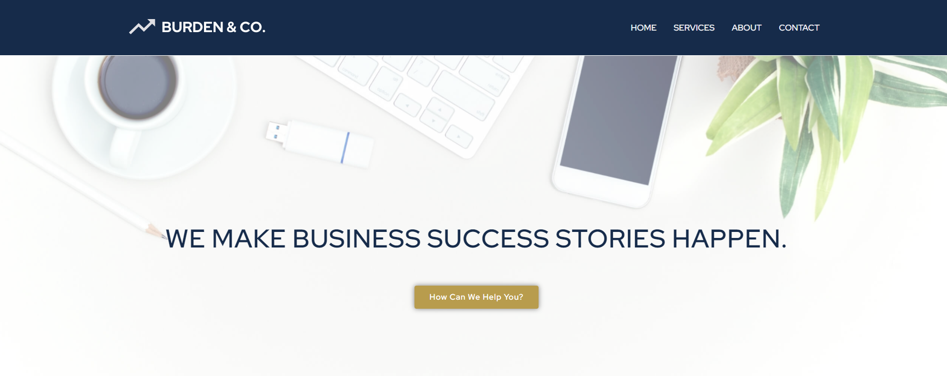 burdenandco.com Homepage